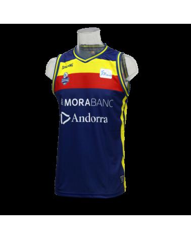 Camiseta Liga Endesa Morabanc Andorra 1ª 18/19