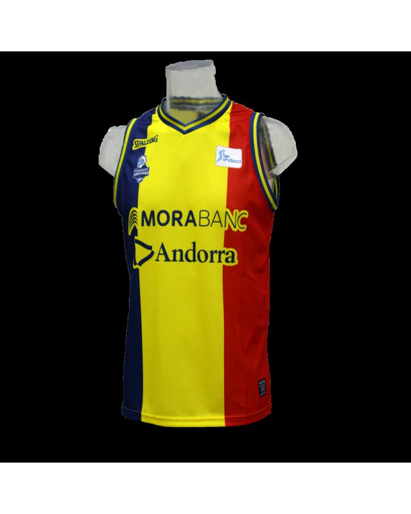 a2431e119ee Camiseta Liga Endesa Morabanc Andorra 3ª Ver más grande