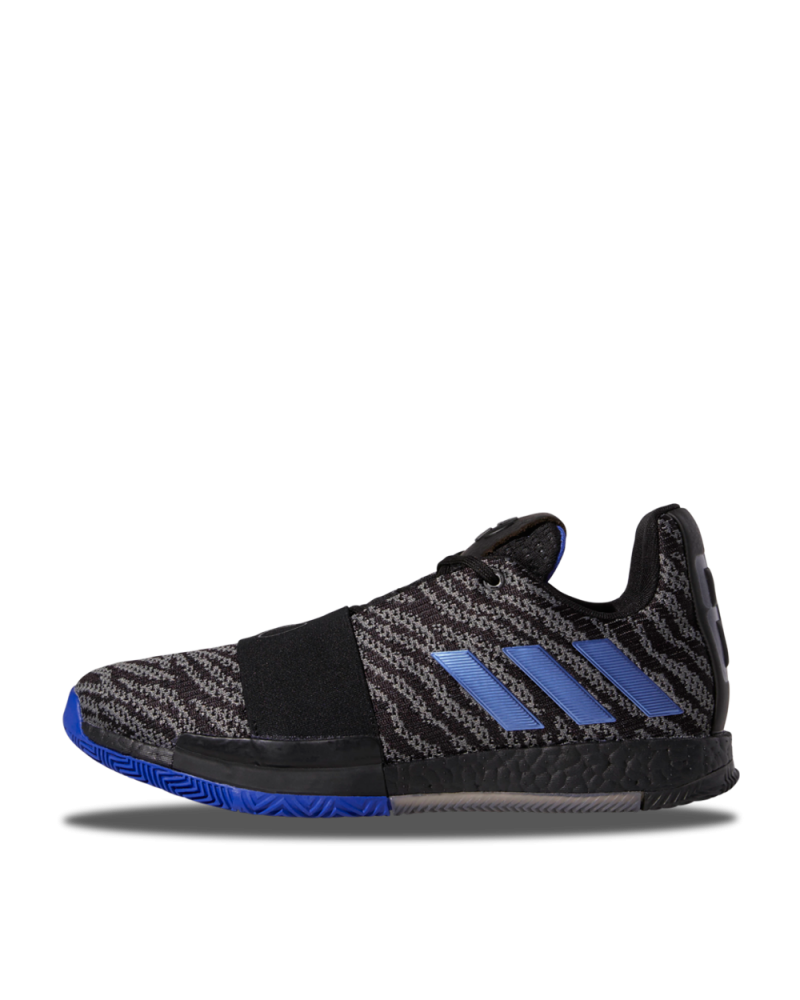 Adidas Harden Vol. 3 Black Active Blue