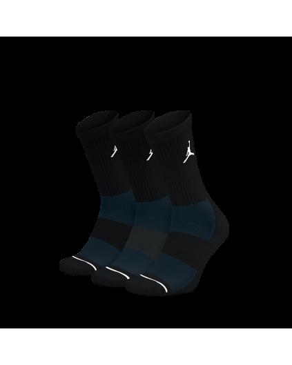 Calcetín Jordan Negro (Pack 3)