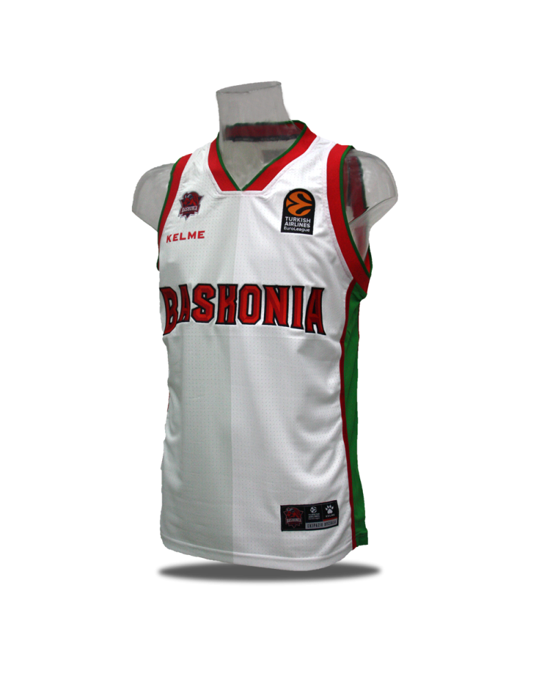 Camiseta Euroliga Baskonia 3ª