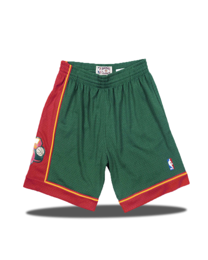 Swingman Supersonics Shorts 1995-96