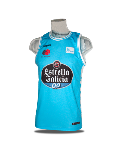 Camiseta Liga Endesa Cafes Candelas Breogán 1ª