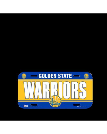Golden State Warriors Plate