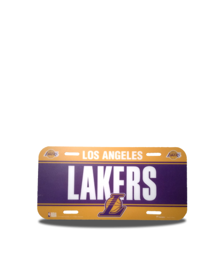 Placa Los Angeles Lakers