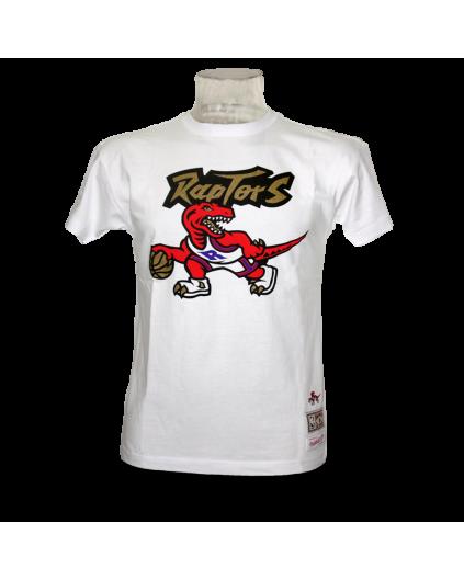 Dribble Toronto Raptors White Shirt