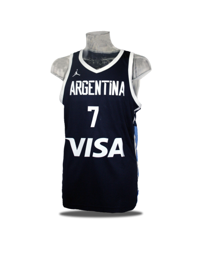 Camiseta Campazzo Argentina Navy