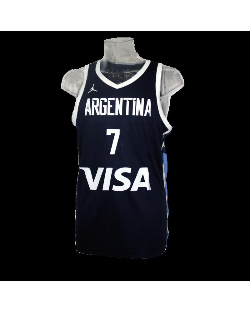 Campazzo Argentina Navy Jersey