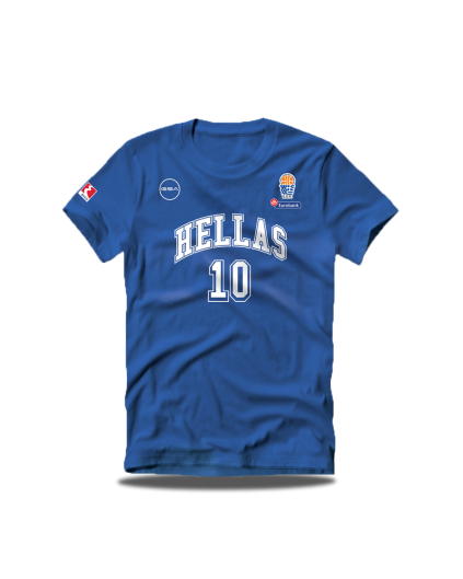 Camiseta Grecia Sloukas Royal