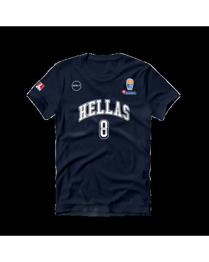 Camiseta Grecia Calathes Navy