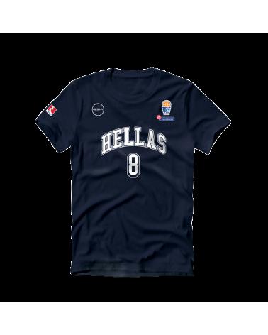 Calathes Navy Hellas Shirt