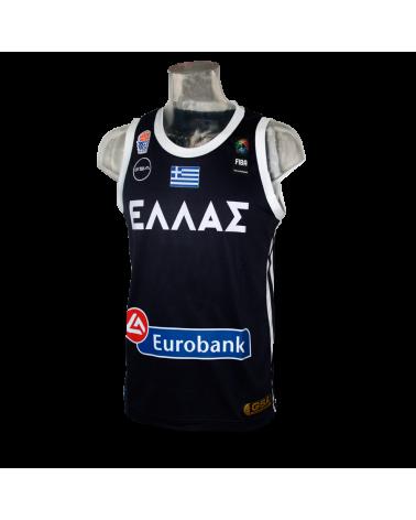 FIBA Grecia Navy Jersey