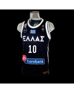 Camiseta FIBA Grecia Navy