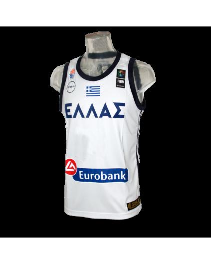FIBA Grecia White Jersey