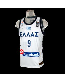 Camiseta FIBA Grecia Blanca