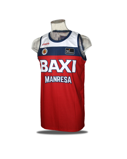 Camiseta Liga Endesa Baxi Manresa 1ª