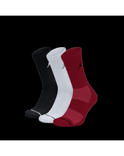 Calcetín Jordan 3Color BWR (Pack 3)