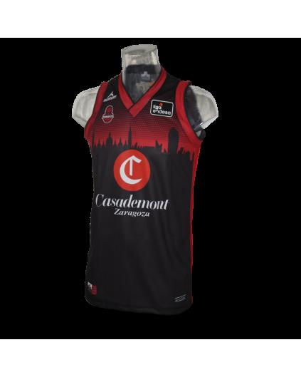 Camiseta Liga Endesa Casademont Zaragoza 3ª