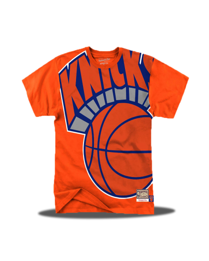 Big Face New York Knicks Tee