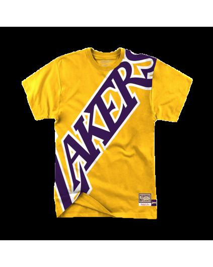 Big Face Los Angeles Lakers Tee