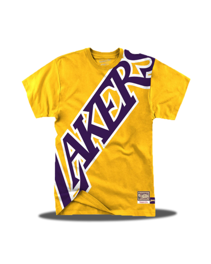 Camiseta Big Face Los Angeles Lakers