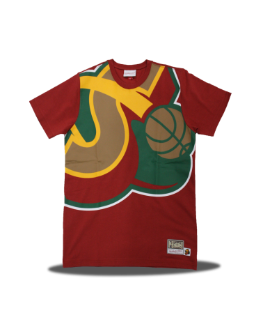 Big Face Seattle Supersonics Tee