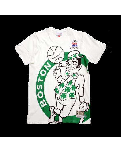 Big Face Boston Celtics Tee