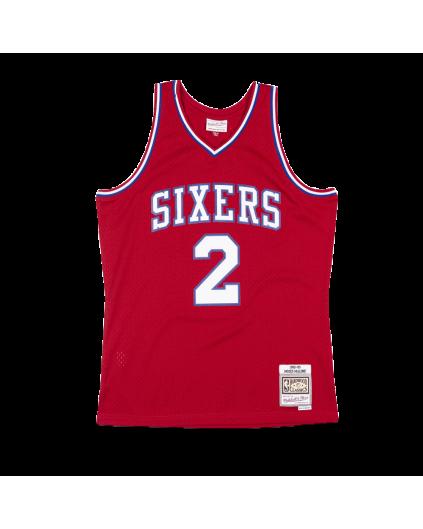 Swingman Moses Malone Sixers 82/83