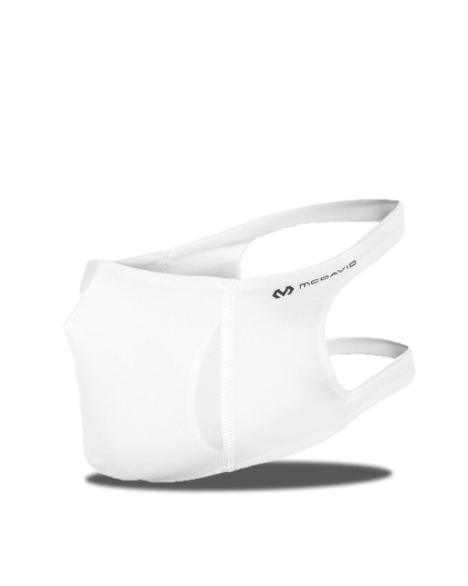 McDavid Sport Face Mask White