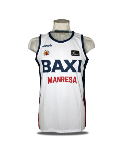 Camiseta Liga Endesa Baxi Manresa 2ª