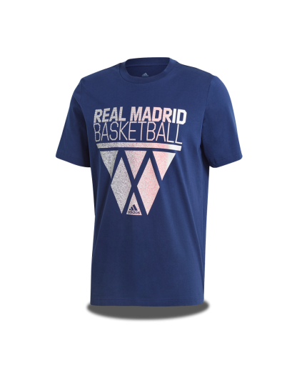 Camiseta Tee Real Madrid Basketball