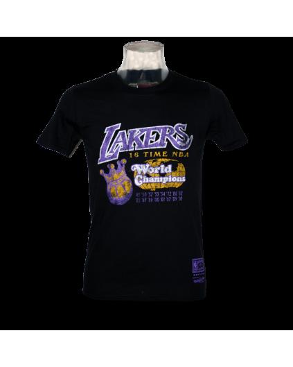 Camiseta World Champions Los Angeles Lakers