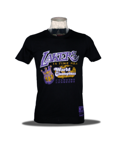 World Champions Los Angeles Lakers Tee