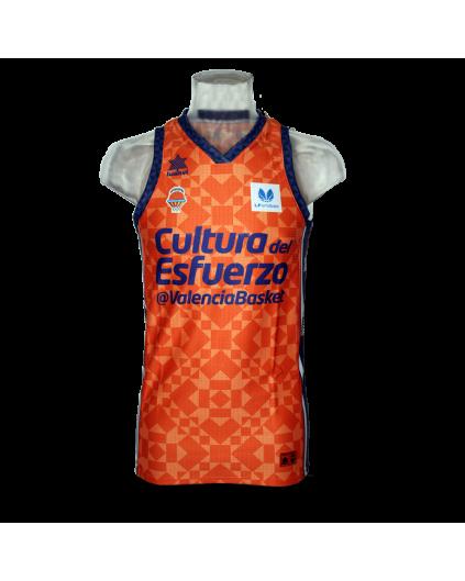 Camiseta Liga Endesa Femenina Valencia Basket 1ª