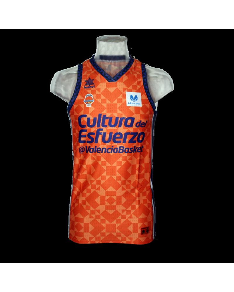 Liga Endesa Femenina Valencia Basket Home Jersey