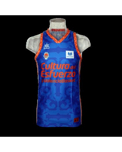Camiseta Liga Endesa Femenina Valencia Basket 2ª