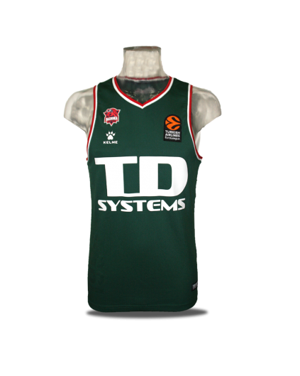 TD Systems Baskonia Retro Jersey