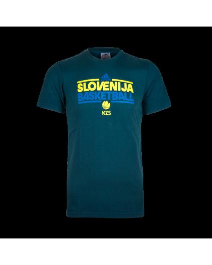 Basket Slovenija Adidas T-Shirt