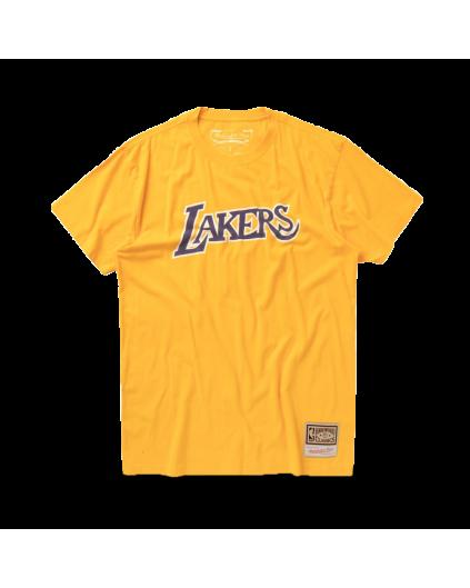 Camiseta Worn Logo Los Angeles Lakers