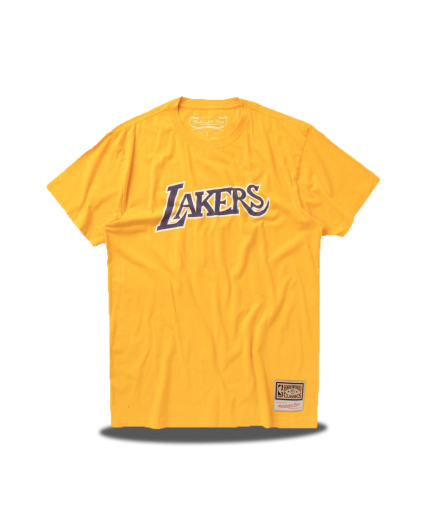 Los Angeles Lakers Worn Logo Tee