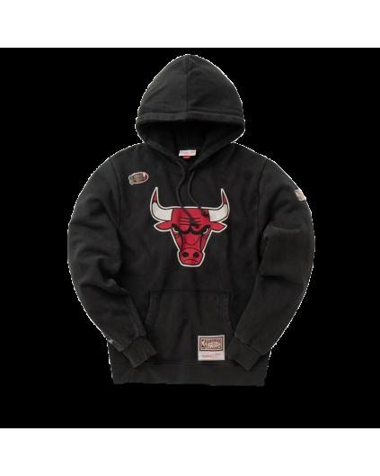 Chicago Bulls Worn Logo Hoodie