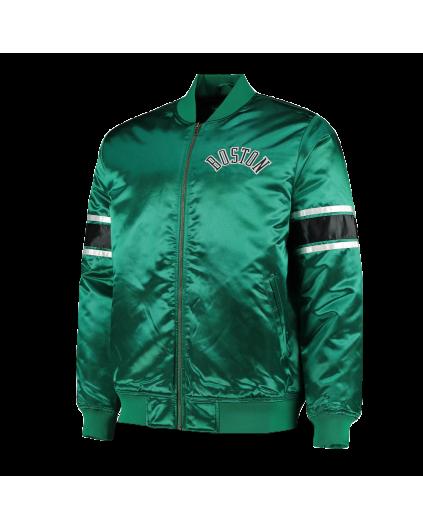 Satin Jacket Boston Celtics