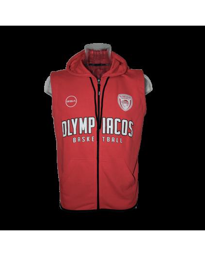 Sleeveless Hoody Olympiacos