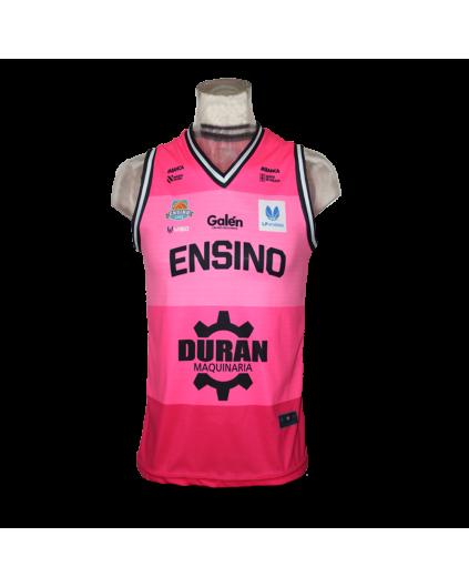 Liga Femenina Ensino Lugo Pink Jersey