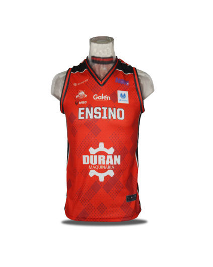 Liga Femenina Ensino Lugo Red Jersey