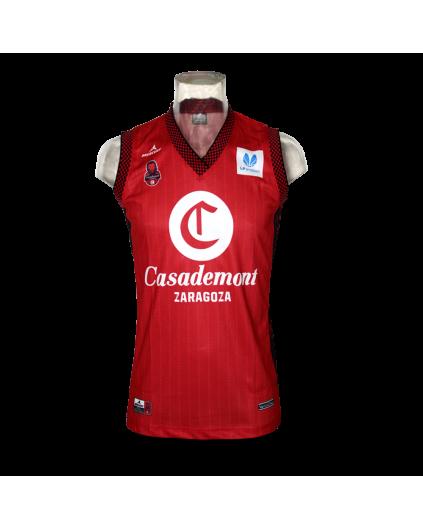 Camiseta Liga Femenina Casademont Zaragoza 1ª