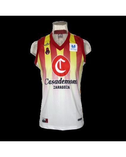 Liga Femenina Casademont Zaragoza Away Jersey