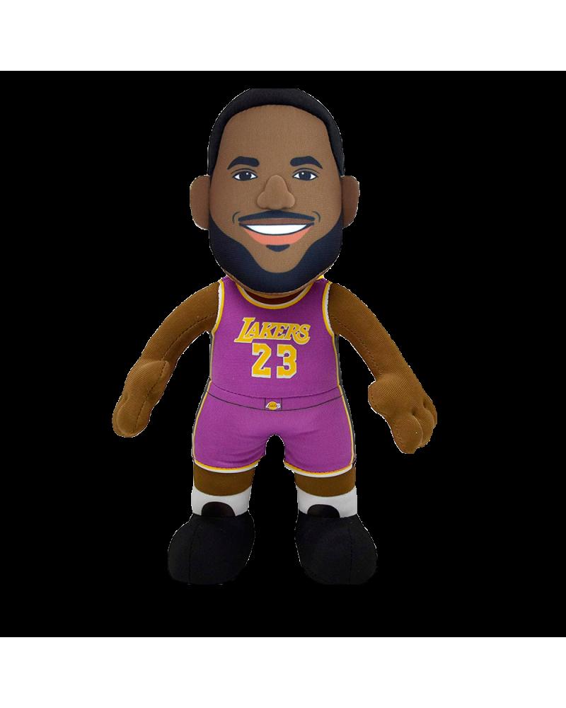 Peluche Lebron James Lakers Morado