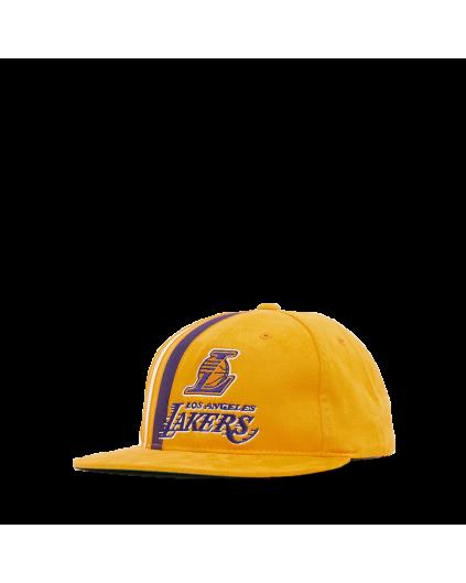 Snapback M&N Team Stripe Los Angeles Lakers