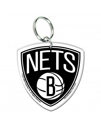 Acrylic Keyring Brooklyn Nets